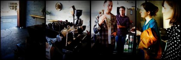 Slayer demo at Sightglass Coffee in San Francisco, CA