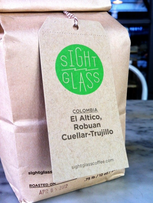 The bag of El Altico, straight from the register