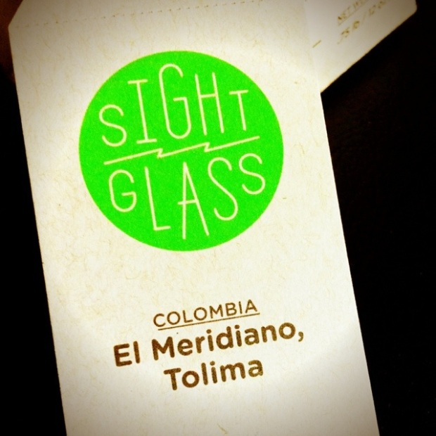 Sightglass's Colombia El Meridiano Tolima